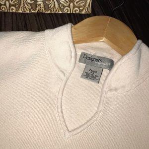 Designers originals sleeveless sweater
